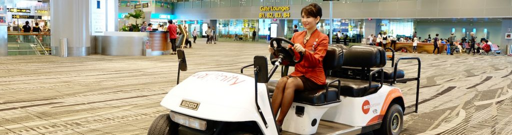 Singapore airport assistance VIP meet and assist
