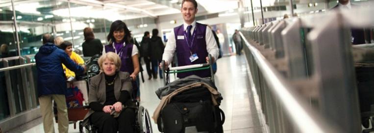 wheelchair, airports